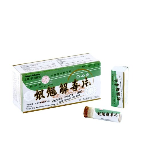 YIN Chiao Chiehtupien hierbas suplemento 96tablets