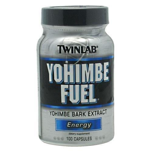 TwinLab Yohimbe combustible 8.0, 100 cápsulas