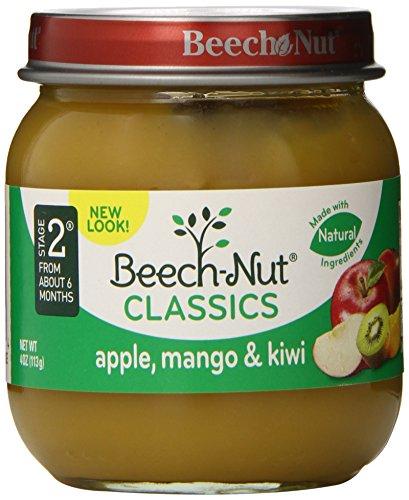 Clásicos de la haya-Nut, manzana, Mango y Kiwi, 4 onzas (paquete de 10)