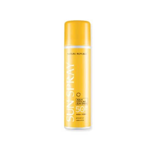 Provenza caléndula Aqua de enfriamiento solar Spray Spf50 + Pa +++