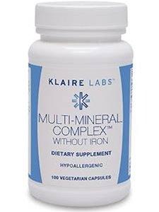 Varios Mineral complejo sin hierro 100 c de Klaire Labs