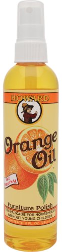 Howard OR0008 aceite de naranja madera polaco, 8 onzas