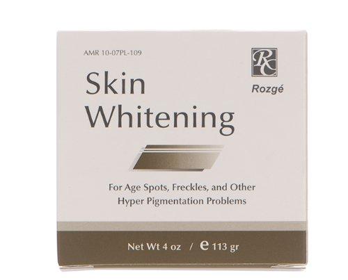 Rozge piel que blanquea la crema con hidroquinona al 2%, 4 oz