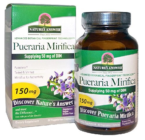 Respuesta Pueraria Mirifica vegetariana de la naturaleza cápsulas, 60-Conde