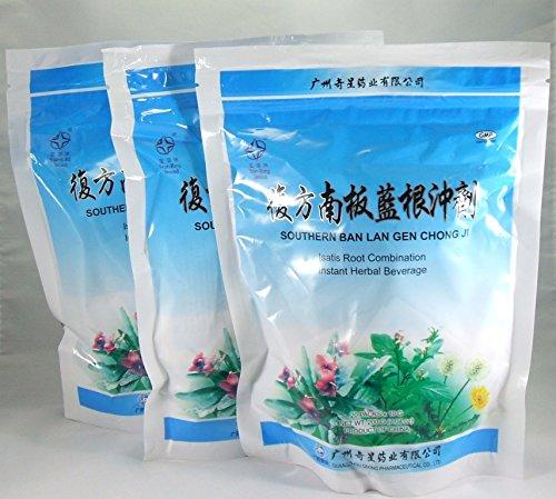 Pack 3! Ban Lan Gen Chong Ji, bebida instantánea de hierbas, té, bebida, 3 x 20 porciones