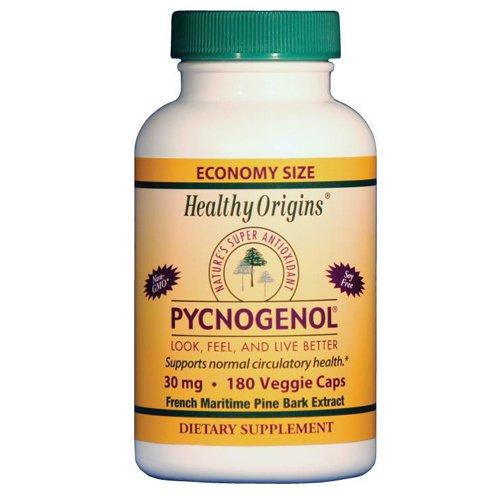 Veg de orígenes sanos Pycnogenol cápsulas, 30 mg, 180 cuenta