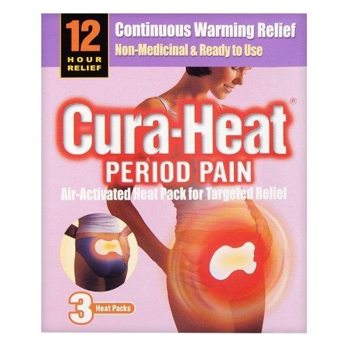 Parches de calor cura dolor menstrual