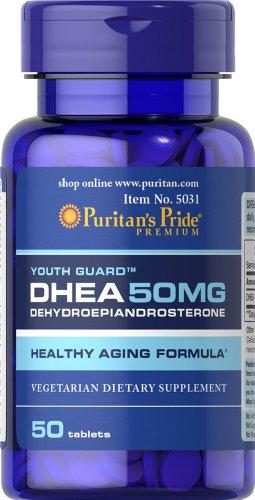 Pride de Puritan DHEA 50 mg 50 tabletas