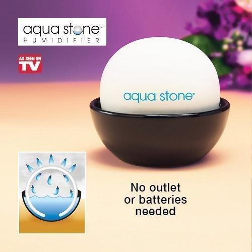 Como se ve en humidificador piedra Tv Aqua