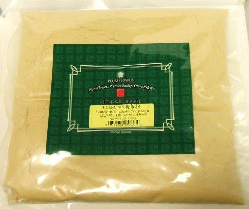 Polvo de raíz de escutelaria / Huang Qin / raíz de Scutellaria Baicalensis, hierbas a granel de 1lb / 500g