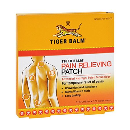 Tiger Balm Volver alivio del dolor 5 Patches