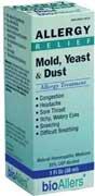 Molde y levadura polvo alergia tratamiento 1 onzas