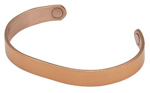 Original pulsera magnética Sabona cobre, tamaño mediano