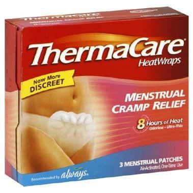 ThermaCare cólicos menstruales alivio térmico envuelve, 1 cuenta