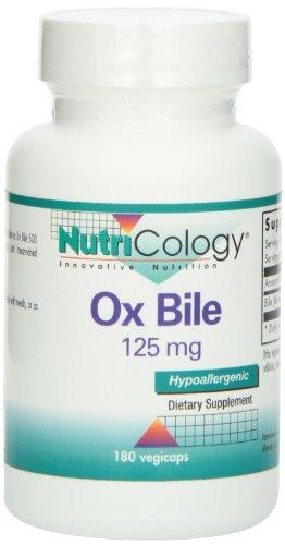 Bilis de buey 125 mg 180 cápsulas