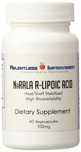 Na biodisponibilidad alta-R -ALA el ácido R-lipoico. 100mg