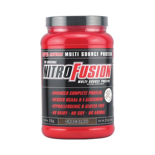 Nitro Fusion proteína Multi-Source fórmula Chocolate - 2 libras