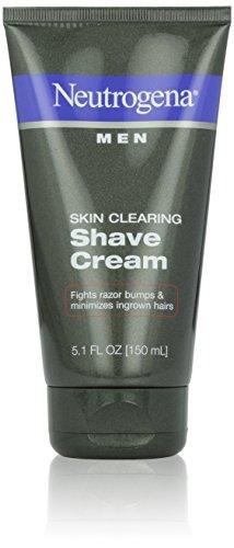 Los hombres Neutrogena piel claro crema de afeitado, 5,1 onzas (paquete de 2)