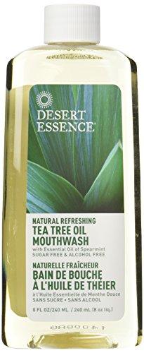 Desierto esencia Tea Tree aceite colutorio menta--8 fl oz