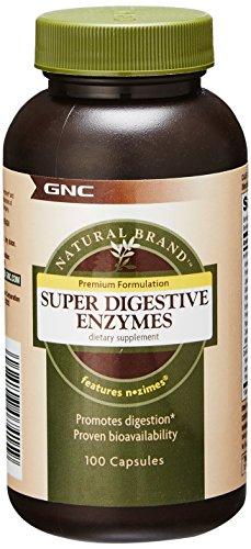 Cápsulas de enzimas digestivas Super 100 natural marca