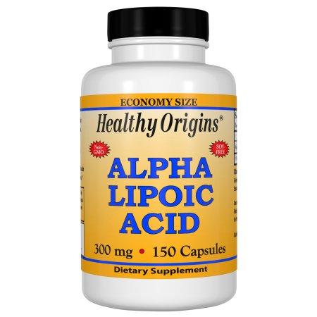 El ácido alfa lipoico 300 mg 150 Cápsulas