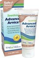 Medicina Natural del Dr. King avanzado árnica tópico Cream3 onzas
