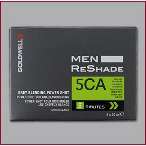 Goldwell para hombres ReShade gris mezcla potencia tiro 5CA fría ceniza marrón claro