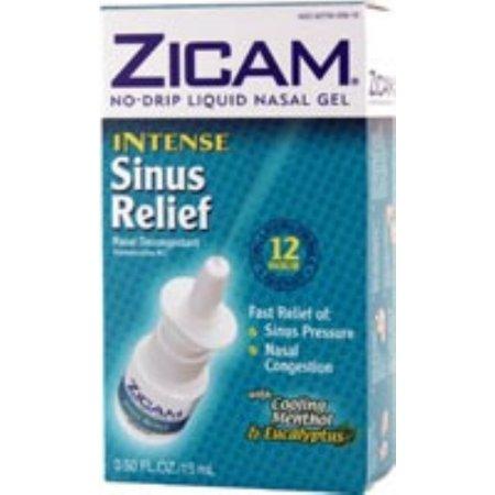Zicam Relief Sinus Intense Liquid Nasal Gel 050 oz