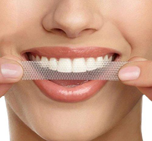 Dientes que blanquean tiras - dientes instantáneamente más blancos más brillantes - mejor blanqueador - 14 tratamientos disponibles - hacen cada diente como blanco posible