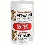 Fruto del tierra vitamina E crema 4 oz + 4 oz tarro