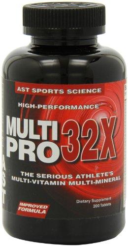 AST Multi Pro 32 X, cápsulas de alto rendimiento, cuenta 200