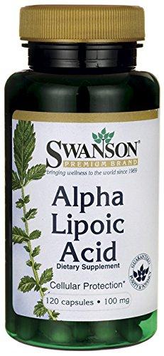 Alfa lipoico ácido 100 mg 120 Caps