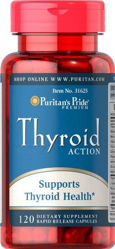 Pride tiroides acción-120 cápsulas de Puritan