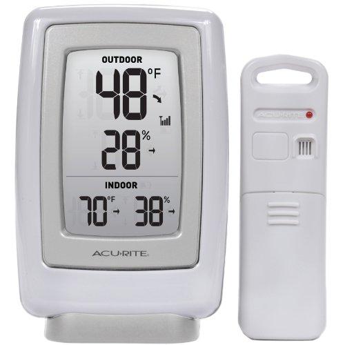 Instantánea AcuRite 00611A3 termómetro interior/exterior inalámbrico y Sensor de humedad