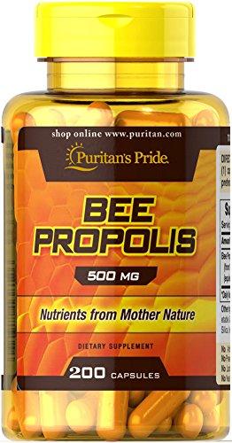 Pride propóleo de abeja de Puritan 500 mg-200 cápsulas