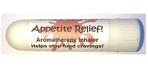 Inhalador de aromaterapia alivio apetito! Ayuda a detener los antojos de alimentos. Dieta pérdida de peso ayuda, Control, mezcla botánica, 100% Natural libre de drogas alternativas Nasal palo del hambre