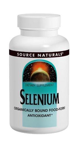 Source Naturals selenio 200mcg, 120 tabletas (paquete de 3)