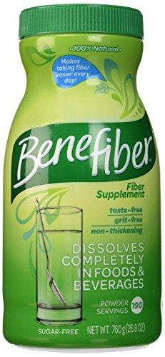 Suplemento de fibra Benefiber - porciones de 730g 190