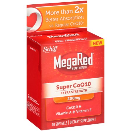 Schiff MegaRed Extra Strength Súper CoQ10 200 mg 40 Ct