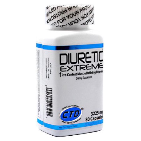 CTD diurético extrema - 80 Cápsulas