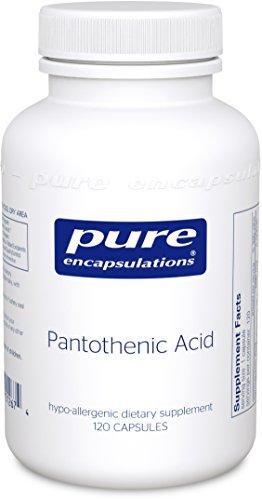 Puros encapsulados - ácido pantoténico 120's (FFP)