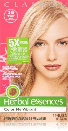 Herbal Essences Color Me vibrante permanente 016 nocaut Rubio 1 Kit cabello