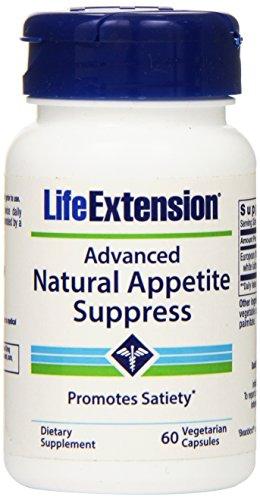 Extensión de la vida avanzado Natural apetito suprimir 60 Vcaps