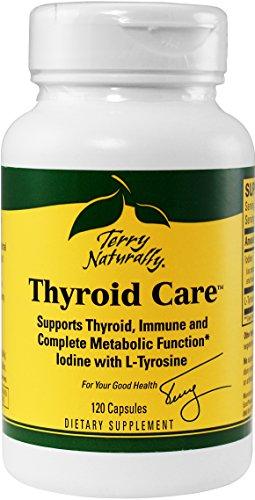 Cuidado de tiroides cápsulas - 120-