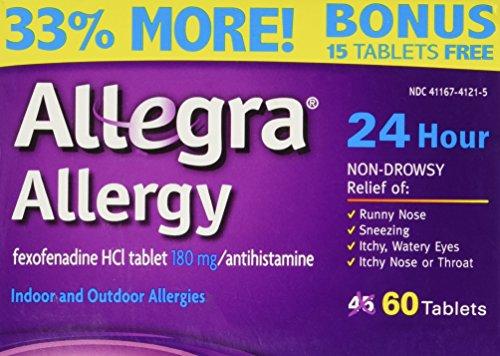 Allegra alergia 45 ct + 15 gratis