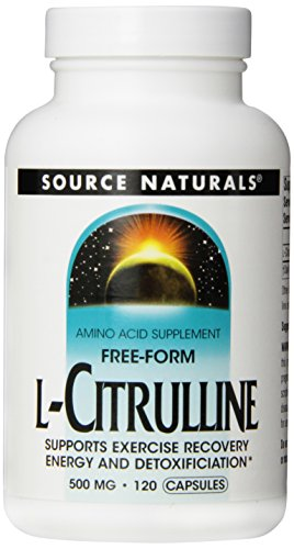 Source Naturals L-citrulina 500mg, 120 cápsulas