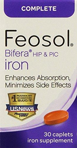 Feosol con Bifera 30 cápsulas (2 Pack)