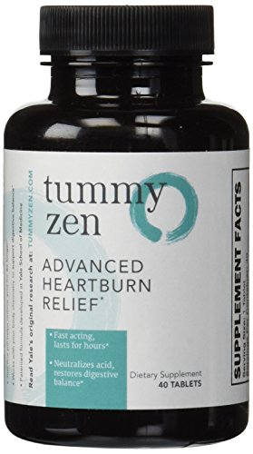 Tummyzen Advanced Heartburn Relief 40Caps