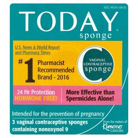 esponja anticonceptiva vaginal 3 Pack