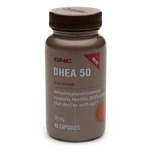 GNC DHEA 50 MG 90 cápsulas